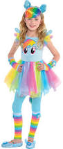create your own girls u0027 rainbow dash costume accessories party city