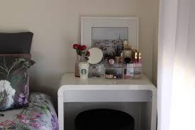 bathroom white makeup vanities with black stools for bedroom