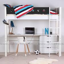 lit mezzanine pour enfant 90x200 cm de la marque flexa 100