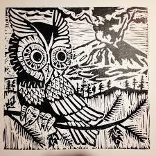 owl artdamagedportland