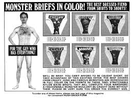 monster briefs and monster t shirts u2013 merchandise u2013 horrorpedia