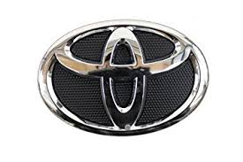 toyota yaris emblem amazon com genuine toyota accessories 75311 06060 grille emblem