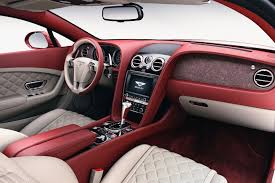 bentley inside roof wood no good how about stone veneers in your bentley by car magazine