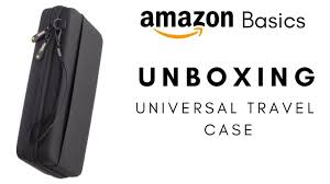 Amazon Travel Accessories Amazon Basics Unboxing Universal Travel Case For Small Electronic