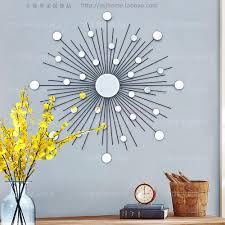 compare prices on sunburst wall decor online shopping buy low modern mirror wall art sunburst metal wall art wire wall mirror mirrored wall decor