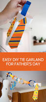 diy tie napkin rings and tie bunting father u0027s day decorations