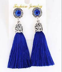 threaded earrings aliexpress buy ethnic bohemian retro silver tassels