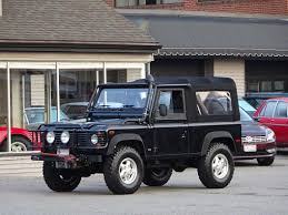 land rover defender 90 lifted 1997 land rover defender 90 convertible copley motorcars