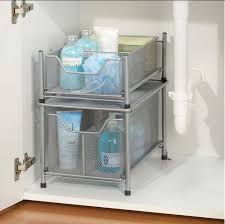 kitchen sink cabinet organizer under cabinet organizer bathroom home designs