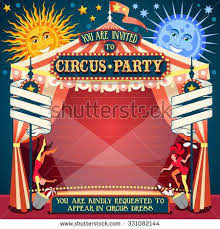 wedding invitation clown birthday greeting card vector show clowns 16 best sirkus images on clowns and big top