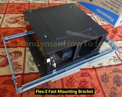 how to replace a bathroom exhaust fan and ductwork mounting frame