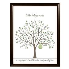 baby shower tree the birds the bees printable baby shower tree