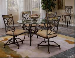 dining room chairs with arms and casters sturdy wood construction