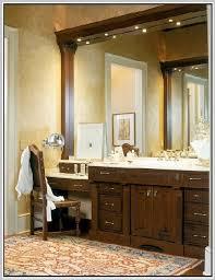 Makeup Vanity With Lighted Mirror Makeup Vanity Table With Lighted Mirror Home Design Ideas