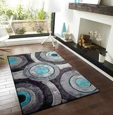 turquoise and gray area rug creative rugs decoration