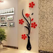 Large Crown Wall Decor Cozy 3d Wall Art Butterflies D Cartoon Broken Walls 3d Wall Art