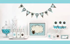 blue baby shower decorations blue baby shower decorations starter kit baby shower decorations