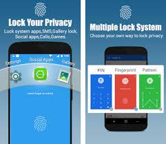 apk app app lock real fingerprint pattern password apk