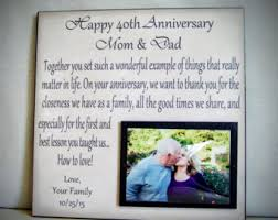 customized anniversary gifts 30 year anniversary gift gift for parents anniversary kids