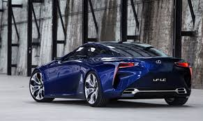 lexus lc f sport lexus said building a 600hp monster coupe to revamp reputation