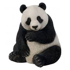 panda real ornament by arts ornaments statues