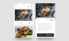 design application ios food ios app sketch file premium download now on behance