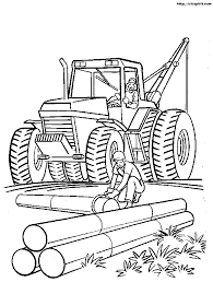 construction machinery free construction coloring pages