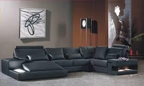 canapé de luxe canapé angle en cuir vachette blanc