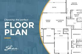 how to use floor plans to choose your next new home shea homes blog