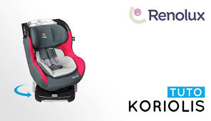 notice siege auto renolux installation tutorial of 0 1 swivelling car seat koriolis
