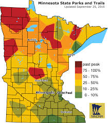 St Paul Zip Code Map by Where To See Fall Colors This Week Minnesota Public Radio News