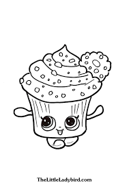 cupcake queen coloring pages thelittleladybird com