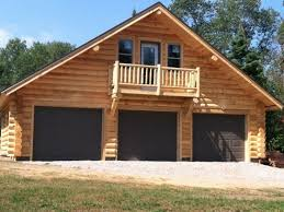 Log Cabin Blueprints Log Garage Designs Log Home Plans With Garages Log Cabin Garage