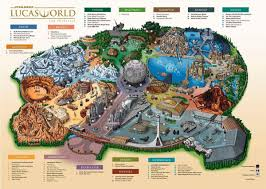 Universal Studios Orlando Map 2015 Star Wars Lucas World Theme Park Map Fake Or Leaked