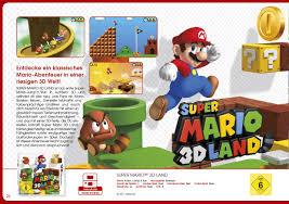 K Hen Katalog Nintendo Katalog Broschüre Katalog Flyer Produkte Wii U Wii