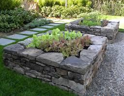 Raised Rock Garden Beds Raising Your Garden Backyard Harvest