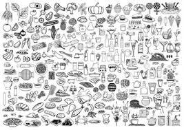 doodle vectors free food doodles vectors photos and psd files free