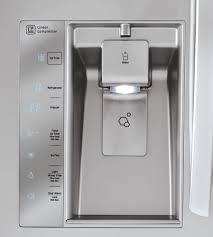 French Door Refrigerator Without Water Dispenser - lg lmxc23746s 36 inch counter depth 4 door french door
