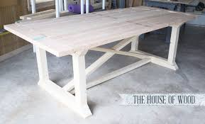 Handmade Kitchen Table Ana White Rekourt Dining Table Diy Projects