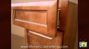 cinnamon glaze kitchen cabinets by kitchen cabinet kings youtube