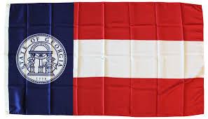 Georgia Flag Buy Georgia 3 U0027x5 U0027 Polyester Flag 1920 1956 Flagline