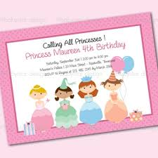 princess party invitation templates princess party invitation
