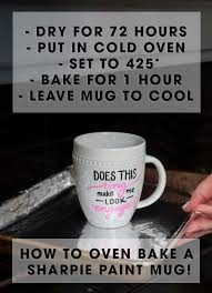 and bake mug learn how to make sharpie mugs that actually work
