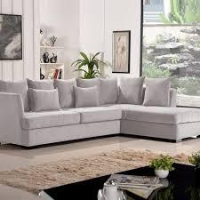 canapé d angle gris clair canapé d angle gris clair canap d 39 angle 5 places en tissu gris