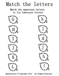 Pre K Letter Worksheets
