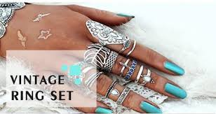 rings finger images Vintage rings finger rings jewelry trendy design wear jpg