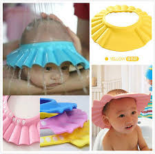baby shower cap useful baby shower cap children shoo bath wash hair shield hat