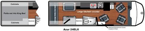 Rv Floor Plans Class A Floor Plans Class B Motorhome Van