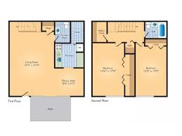 two bed two bath floor plans 2 bed 2 bath apartment in silver spring md rollingwood