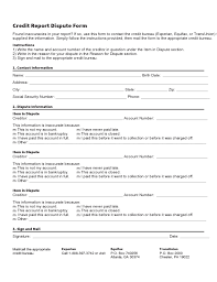 Dispute Letter For Experian credit report template londa britishcollege co